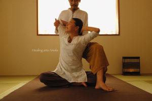 タイ古式マッサージ Thai traditional massage